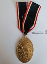 Kyffhäuserbund - Medaille 1914/18 mit Band