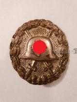 Verwundetenabzeichen - Silber hohl geprägt 1. Form