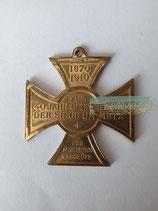 Erinnerungskreuz - Zum 40 Jähr. Gedächtnis der Siege um Metz