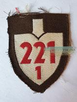 RAD Abteilung 1/221 - XXII Hessen-Nord (Stoff braun)