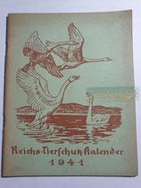 """Kalender - """"Reichstierschutzkalender"""" 1941"""