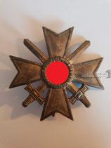"Kriegsverdienstkreuz mit Schwerter 1. Klasse - ""L/12"""