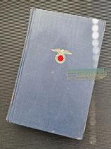 """VERKAUFT!!! Buch - Mein Kampf Volksausgabe 1943 """"Adler 1. Variante"""""""