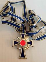 Mutterkreuz Silber mit Band