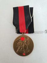 Medaille - 1. Oktober 1938 mit Bandabschnitt (2)