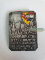 Treffabz. - 31. Badischer Feuerwehrtag 1933 in Pforzheim