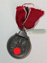VERKAUFT!!! Medaille Winterschlacht im Osten 1941/42 mit Bandabschnitt (3)
