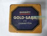 Zigaretten Dose - Gold Saba Cigaretten