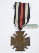 Ehrenkreuz für Frontkämpfer - T.H.W. mit Bandabschnitt