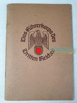 Heft - Das Führerkorps des dritten Reiches