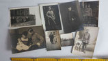 Fotogruppe 1. Weltkrieg aus einer Familie