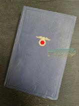 Buch - Mein Kampf Volksausgabe 1933 Auflage 43
