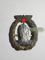 Minensucher Kriegsabzeichen - Deumer (Quernadel)