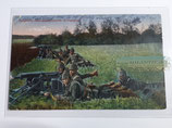 Feldpostkarte - Maschinen-Gewehr-Kompanie