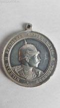 Medaille - Gedenkmedaille Wilhelm II Manöver 1896