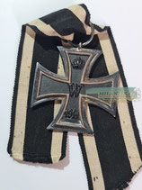 Eisernes Kreuz 2. Klasse 1914 - KO mit Bandabschnitt