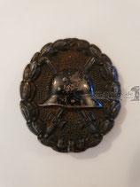 Verwundetenabzeichen - Schwarz 1914-18