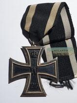 Eisernes Kreuz 2. Klasse 1914 - KO mit langen Bandabschnitt