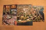 Postkarten - 5x Dresden ungelaufen