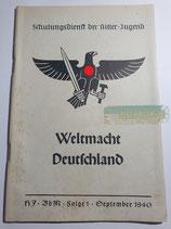 Heft - Schulungsdienst der HJ Folge 1 September 1940