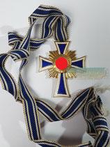 Mutterkreuz Gold am langen Band