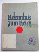 Buch - Bekenntnis zum Reich