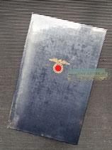 """VERKAUFT!!! Buch - Mein Kampf Volksausgabe 1938 """"Schutzfolie"""""""