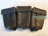 Patronentasche zum K98 - Carl Ackva Lederfabrik