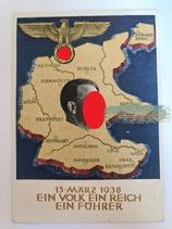 Ganzsachen - Postkarte 13. März 1938