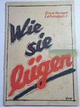 """Buch - """"Wie sie lügen"""""""