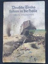 Romanheft - Deutsche Tanks fahren in die Hölle
