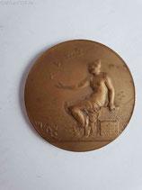 Medaille - sächs. thüring. Brieftaubenzüchter-Vereinigg.