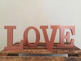 """""""love"""" Buchstaben Kupfer"""
