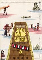 世界の七不思議(CINERAMA・帝国劇場/洋画パンフレット)