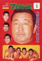力道山死後日本マット界の10年(ベースボール・マガジン増刊号)