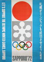 札幌オリンピック告知ポスター(SAPPORO'72)