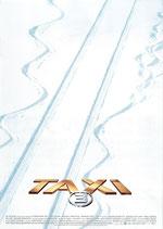 TAXI3(洋画チラシ)