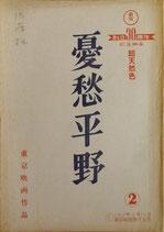憂愁平野(2)(映画台本)