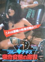 ブルー・ナチス 猟奇変態の魔界(ピンク映画/洋画ポスター)