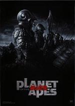 猿の惑星(チラシ洋画)