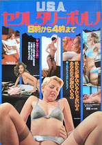 U.S.A.セレクタリー・ポルノ 8時から4時まで(ピンク映画/洋画ポスター)