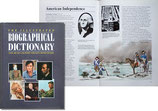 THE ILLUSTRATED BIOGRAPHICAL DICTIONARY(人名事典)(洋書写真入)
