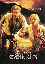 SIX DAYS SEVEN NIGHTS 6デイズ/7ナイツ(米映画/パンフレット)