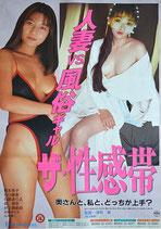 ザ・性感帯 人妻VS風俗ギャル(ピンク映画ポスター)