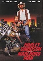 ハーレーダビッドソン&マルボロマン(アメリカ映画/パンフレット)