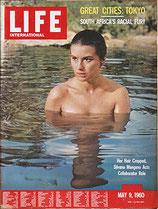 LIFE/INTERNATIONAL EDITION(ライフ・1960年5月9日号/表紙・シルヴァーナ・マンガーノ)