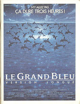 グラン・ブルー「グレート・ブルー完全版」(フランス映画/パンフレット)