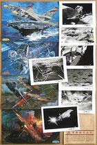 FUTURE WAR 198X年(アニメ・ロビーカード4枚/スチール写真7枚)