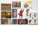 「夢」黒澤明 作品 ポストカード10枚揃い