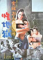 実録おんな鑑別所 性地獄(ピンク映画/邦画ポスター)